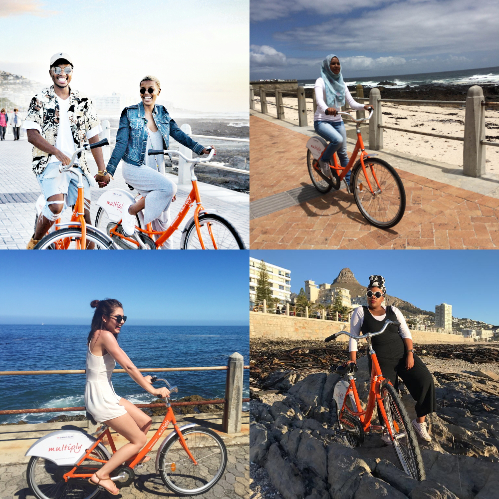Explore, Cape Town, Cape town bicycles Sea point bicycles Bicycles in cape town Bike rental Bike hire Bicycle rental Bicycle hire Up Cycles Promenade V&A Waterfront Momentum bikes Multiply bikes Orange bikes Riding in cape town Cycling in cape town City bikes Road bikes Mountain bikes Retro bikes Sea point pavilion Pavillion Silo Cape argus Kids bikes Electric bikes Pedal assist